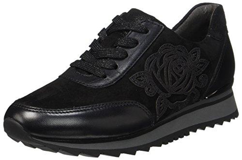 Gabor Casual, Chaussures À Lacets Pour Femme Black (schwarz)