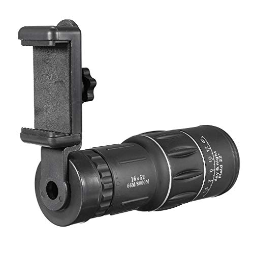 Sunlera 16x52 Foco Dual Potente Zoom monocular HD