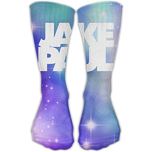saibing Unisex Athletic Socks Ankle Socks Casual Sport Socks Jake Paul It's Everyday Bro Breathable Crew Socks 30cm