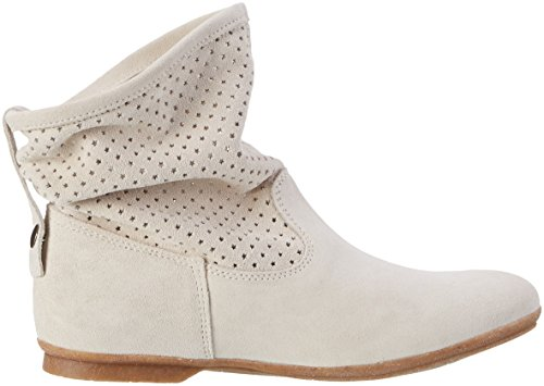 Apple of Eden Bianca Damen Stiefel Elfenbein (Lamb)