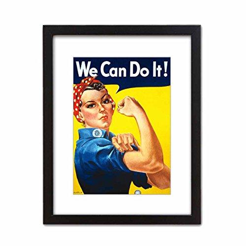 ArtDash? Foto Kunst Kunstdruck We Can Do It. berühmten historischen Bild-Qualität Dekorative Foto 5