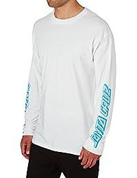 Santa Cruz Party Dot Longsleeve T-Shirt - White