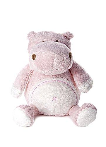 Mousehouse Gifts Baby Plüschtier Stofftier Rosa Stoffnilpferd für Neugeboren Baby Mädchen Geschenk (Plüschtiere Babys Für Rosa)