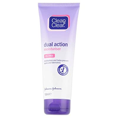 Clean and Clear Dual Action Moisturiser, 100ml from Johnson & Johnson