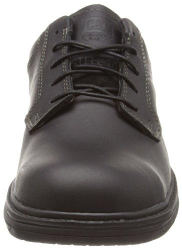 Caterpillar Oversee S1, Cheville Chaussures de Sécurité Homme Noir (Black)