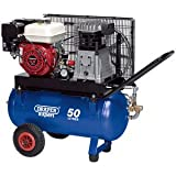 DRAPER EXPERT 072245.5hp 50L Gürtel Kompressor Air zu Motor Benzin