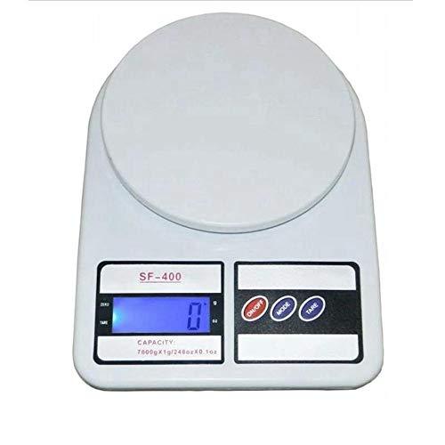 ZHANGYUGE Hohe Qualität Mini elektronische Essen Waagen Tasche Post Küche Schmuck Gewicht Digitale Waage mit 2 Fach Portable, 7 Kg-1G