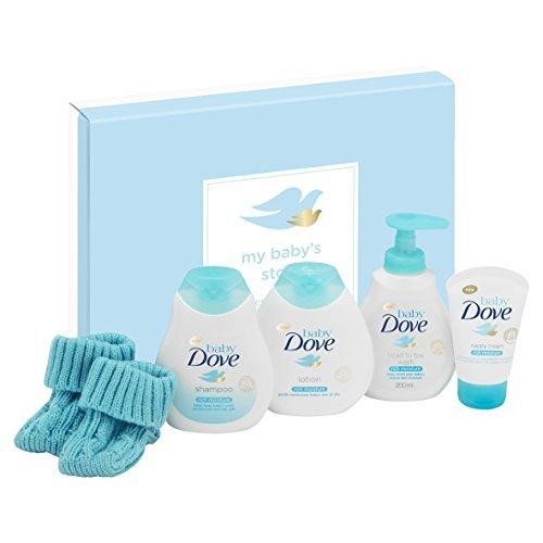 Dove My Baby's Story Coffret cadeau pour bébé 5 pièces
