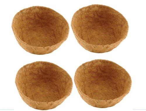 tesco-lot-de-4-fonds-de-corbeilles-a-suspendre-en-noix-de-coco-30-cm