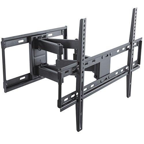 """deleyCON Universal TV Wandhalterung 37""""-70"""" Zoll (94-178cm) Neigbar Schwenkbar - 45Kg bis VESA 600x400 LCD LED OLED TFT CURVED Fernseher Halterung"""