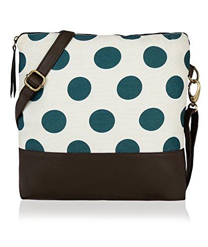 Kleio Women'S Sling Bag(Cream,Eco2002Kl-Cr)