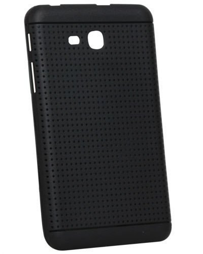 "KANICT 7"" inch Dotted Finished Soft Rubbersied Back Case Cover For Samsung Galaxy Tab 3 Neo T111 T110, Tab 3V SM-T116 -Black"