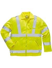Portwest E040Hi-Vis P/C of the Jacket