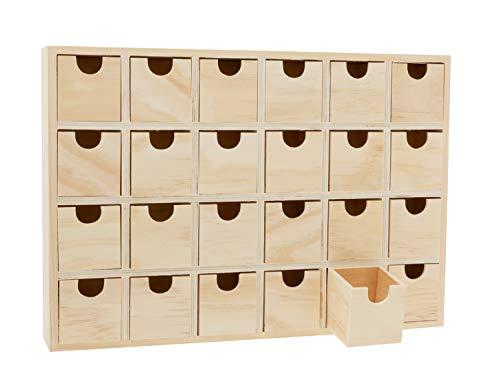 Multistore 2002 Kleiner Schrank 38x12x48cm mit 9 Schubladen Wei/ß//Natur Schr/änkchen Flurschrank Schmuckschrank Badschrank Badezimmerschrank Kommode Schubladenschrank Holzschrank Schubladenbox