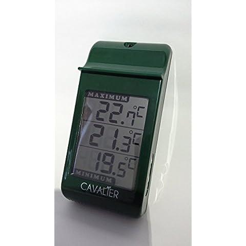 Digital max min termómetro - ideal para su uso en un invernadero, conservatorio, en interiores o exteriores.