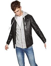 1f4512490c90 Amazon.it  giacca di pelle uomo - Pepe Jeans   Giacche   Giacche e ...