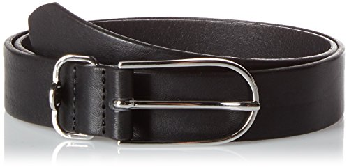 Tommy Hilfiger Damen Gürtel Classic TH 3.0, Schwarz (Black 002), (Herstellergröße: 75) (Classic Belt)