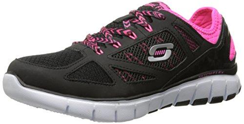 Skechers - Skech-flexroyal Forward, Sneaker Donna Nero (Nero (Bkhp))