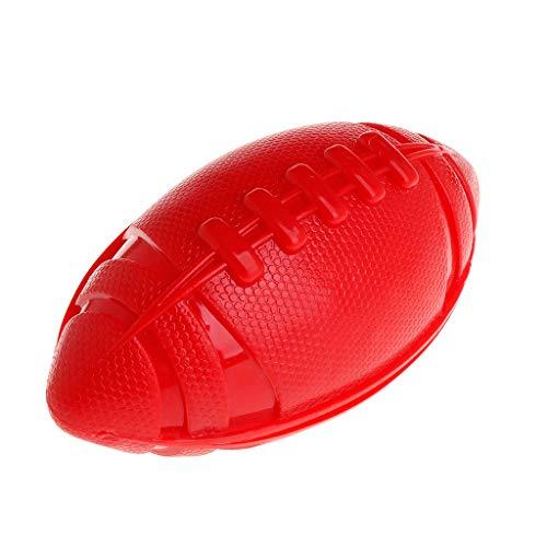 YFairy Hundespielzeug - 1pc, Haustier Ball Rugby TPR Spielzeug Aus Gummi Interaktiv Schwimmend Katze Welpenausbildung Beißen Kauen Oval Spielen Ungiftiges Spielzeug Kleine/Große Hunde -
