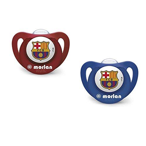 Nuk Chupete Genius FC Barcelona Silicona T1 0-6meses, 1ud