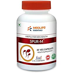 Medlife Essentials Spur-M for Men's Wellness and Immunity | 60 Tablets