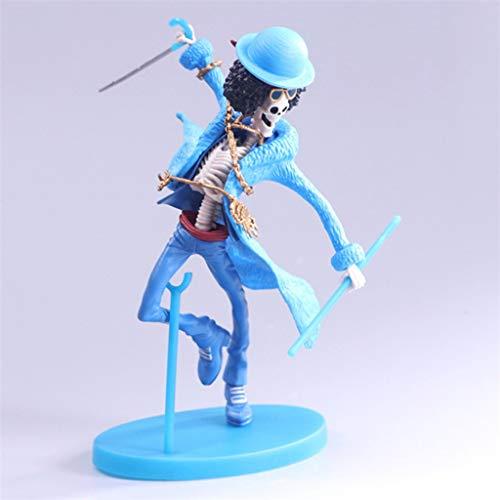 DYHOZZ Einteiler Anime Statue Brooke PVC Spielzeug Modell, Home Office Dekorative Spielzeug Collectibles - Farbe: Blau - 5.3in Spielzeugstatue
