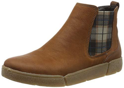 ARA Damen ROM 1214441 Hohe Sneaker, Braun (Cognac 11), 39 EU