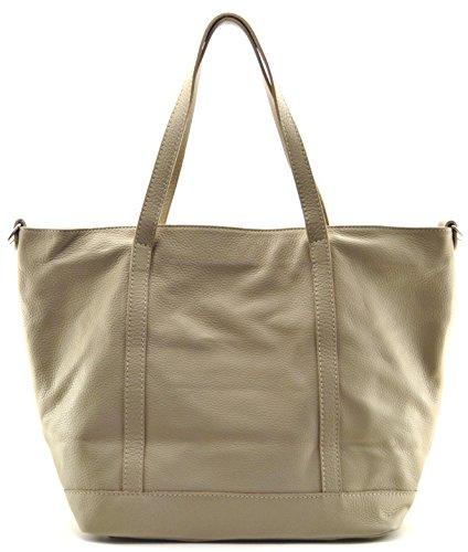OH MY BAG Sac à Main cabas femme en cuir italien porté main, épaule et bandoulière Modèle Irupu Nouvelle collection - SOLDES