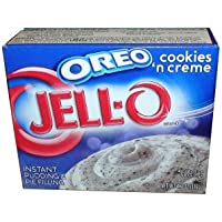 Jell-O Oreo Cookies and Cream Instant Pudding and Pie Filling 119g