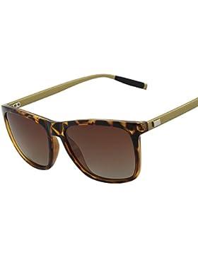 GQUEEN Unisex Wayfarer gafas de sol polarizadas GQ33