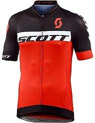 Scott RC Pro Fahrrad Trikot kurz schwarz/orange 2017
