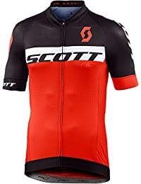 Scott RC Pro bicicleta camiseta corta negro/naranja 2017, XL (54/56)