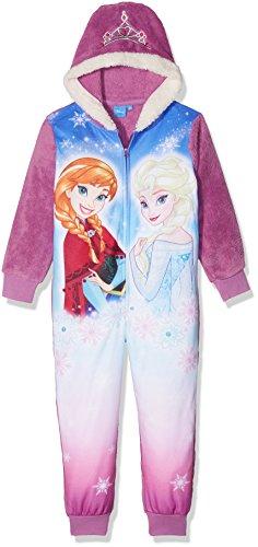Disney la reine des neiges 180784, tuta intera bambina, viola pourpre, 4 anni