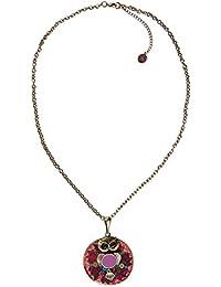 Desigual - Collar de metal (7.5 cm)