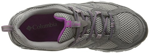Columbia Plains Ridge - Chaussures - gris 2017 light grey/intense violet