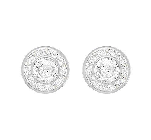 Tuscany Silver Ohrstecker Sterling Silber Weiß Zirkonia 10mm Rund Cluster Preisvergleich