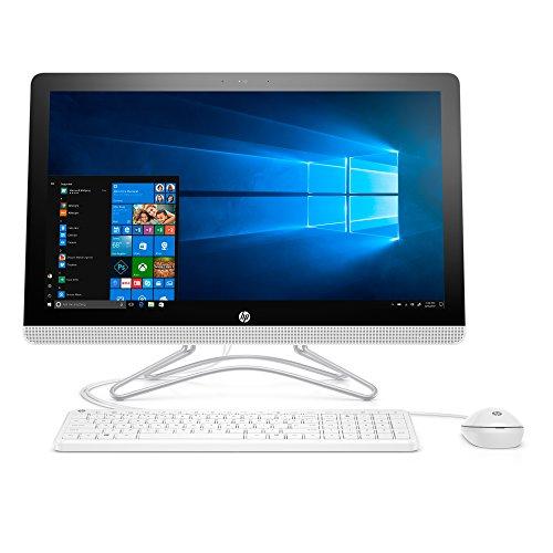 HP Pavilion 24-inch All-in-One Computer, AMD A9-9400 Dual-Core, 8GB RAM, 1TB Hard Drive, Windows 10 (24-e020, White)
