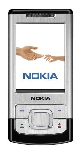Nokia 6500 Slide Silver (UMTS, GPRS, EGPRS, Kamera mit 3,2 MP, Organizer, Musik-Player) Handy Nokia 6500 Slide