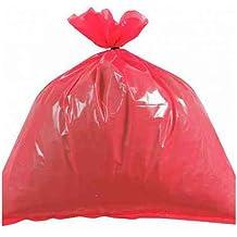 cleaningsupplies4u cics054rojo bolsas de basura, de resistencia mediana, 10kg (Pack de 200)