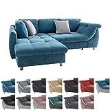 lifestyle4living Ecksofa mit Schlaffunktion | Eckcouch Eckgarnitur Polsterecke L Couch Sofa L Form |...
