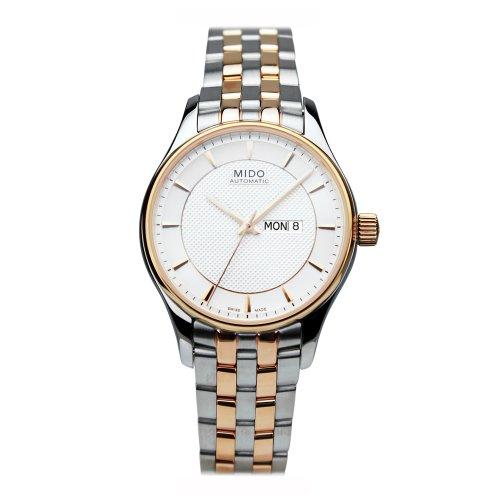 Mido Belluna m0012302203191???Wristwatch women's, stainless steel strap Multicoloured