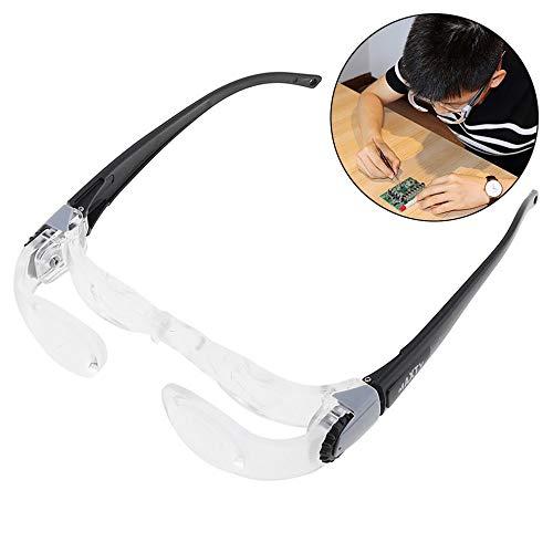 ZUZEN 2,1X 0-300 Grad Acryl + ABS Optische Linsen Tragbare Einstellbare Fernsehbrille Lupe zum Fernsehen 9-hd-plasma-tv