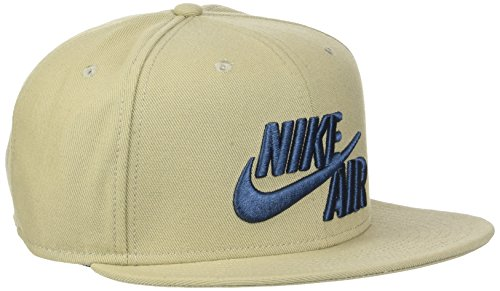 Nike U NK True Cap Classic Unisex Air Kappe, Khaki/Squadron Blau, One Size (True Khaki)