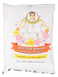 Doctor Brand Naphthalene Balls, 400 Grams (400 Pieces) pack of 2