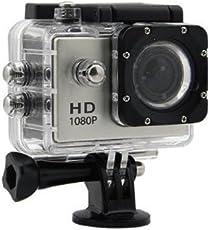 You Gadget 1080P 12Mp Car Bike Helmet Cam Sports Dv Action Waterproof Camera (Color May Vary)