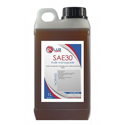 DLLUB – HUILE MONOGRADE SAE 30 – 1 litre pas cher