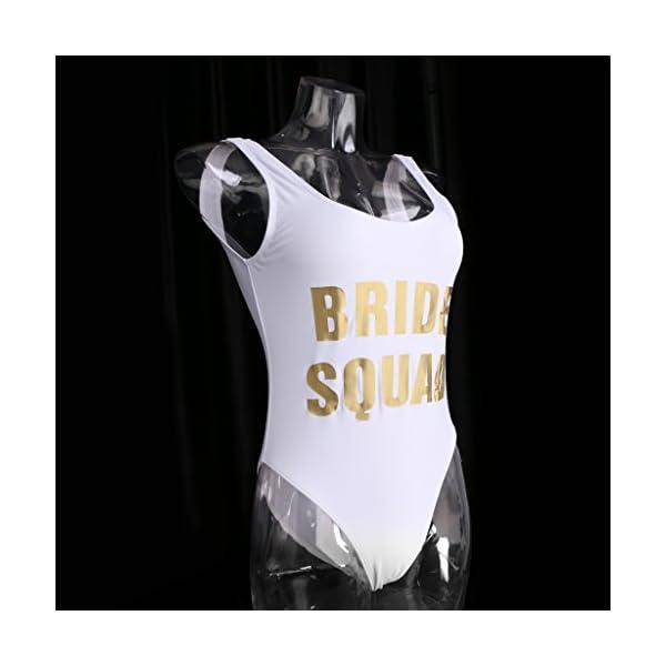 Blesiya Costumi Da Bagno Un Pezzo Bikini Da Donna Monobikini Addio Al Nubilato Festa Di Ragazze Squadra Di Sposa 4 spesavip