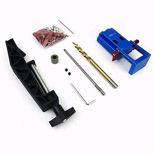 BOHENG Holzbearbeitungswerkzeuge, Holzbearbeitungs-Taschen-Bausatz, 9,5 mm Drehbohrhaltring für manuelle Pilotholzbohrsäge Hauptsystem