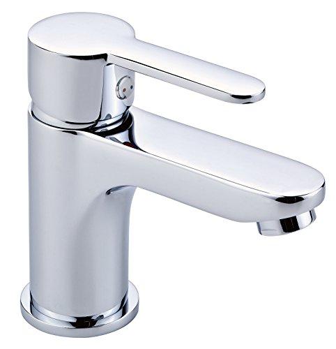 EISL ni075gvdcr lavabo grifo grande Vita Diseño, cuarto de baño grifo con desagüe de/escobillero excéntrica, Monomando, cromado