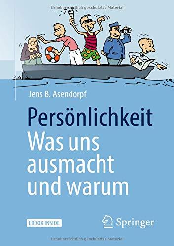 Buchcover Persönlichkeit: was uns ausmacht und warum